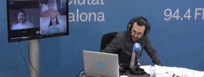 La Ràdio Ciutat de Badalona ens entrevista!
